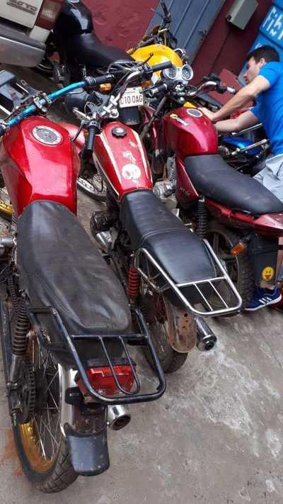 Recuperan motocicletas robadas y detienen a los supuestos autores – Prensa 5