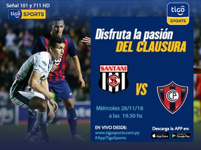 Deportivo Santaní vs. Cerro Porteño es la cita