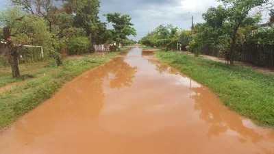 Lluvia inundó casas y calles en Concepción