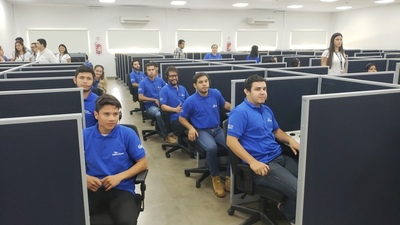 Concepción: Tigo inaugura moderno call center