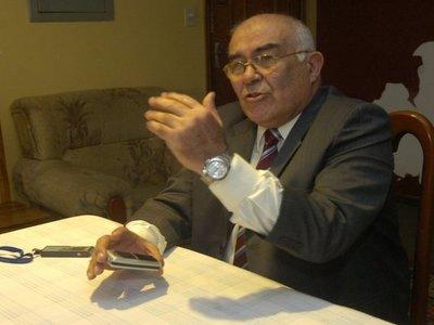 Sindulfo Blanco pide anular su imputación, alegando inmunidad