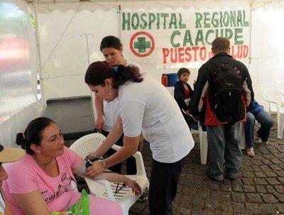 Caacupé 2018: En más de 80 puestos de salud se atenderá a peregrinos