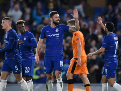 Goleada del Chelsea en la Europa League