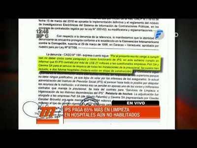 IPS paga dineral por servicios de aseo