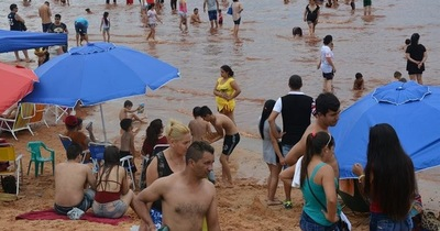Se inicia proceso para ampliar  playa de la Costanera de Hernandarias