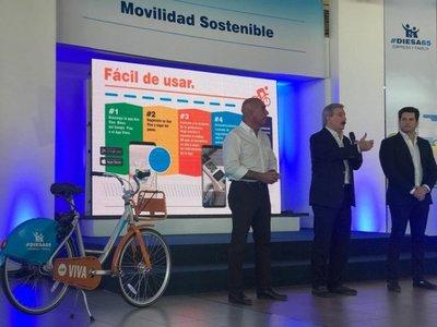 Anuncian bicicletas públicas gratuitas en Asunción