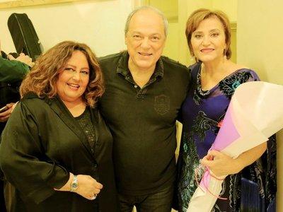 Noche de alto vuelo musical con Berta, Toquinho y María Creuza