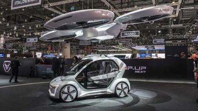 """Taxidrone"""" , el coche del futuro de Airbus"""