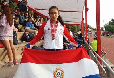 Medalla de bronce para la roseña Andrea Rivas