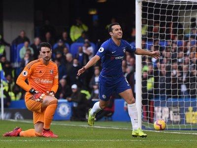 Chelsea se lleva el derbi ante el Fulham de la mano de Pedro