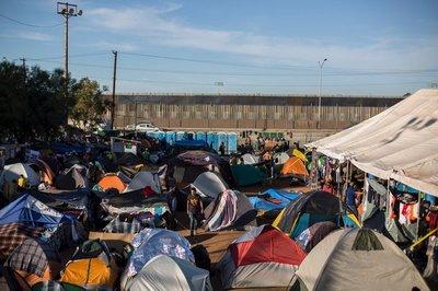 Cierran albergue de migrantes por salubridad en Tijuana