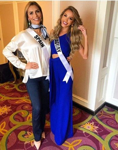 PREVIA CALIENTE Bolonqui por foto de Miss España y Miss Paraguay