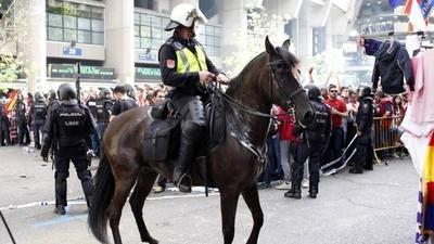 HOY / Policía española destaca su experiencia en grandes despliegues de seguridad