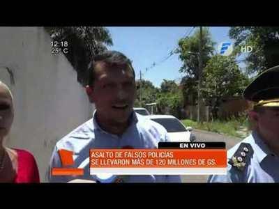 Falsos policías asaltan a funcionario del colegio San Ignacio de Loyola