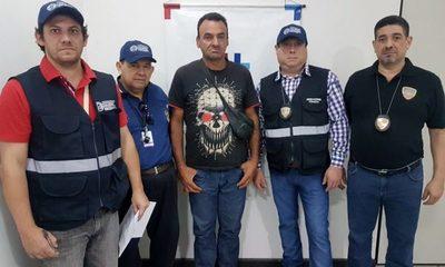 Expulsan a brasileño prófugo de la justicia de su país