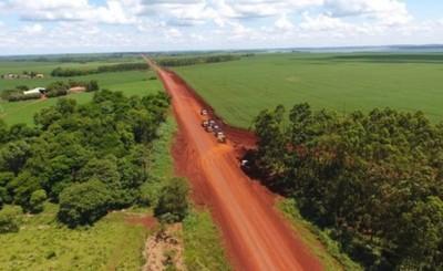 MOPC pavimentará camino que une Yguazú y Mcal. Francisco López