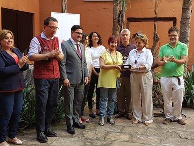 Cultura entregó reconocimiento a Las Herederas