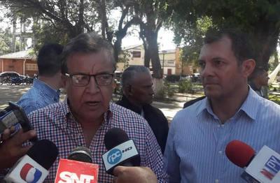 Yacyretá entrega aportes a Gobernación de San Pedro