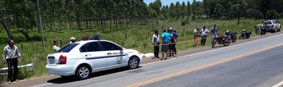 Accidente fatal en Aguapety – Prensa 5