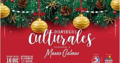 Domingos Culturales homenajea a Maneco Galeano