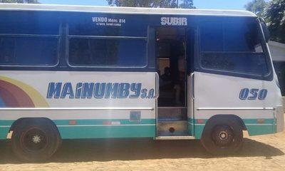 Cae bus que transportaba contrabando