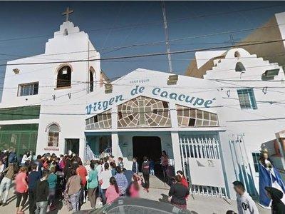 Cuatro parroquias se llaman Virgen de Caacupé en Argentina