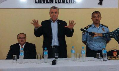 Ministro del Interior se reúne con jefes policiales del Alto Paraná
