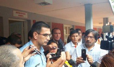 """Corrupción policial: Cartes pide a comandante ser """"implacable"""""""