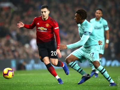 Manchester United y Arsenal igualaron en un partidazo