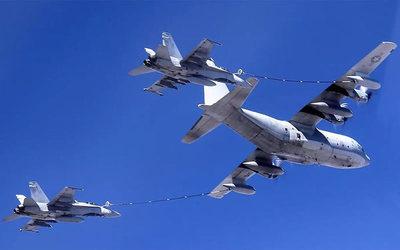 Dos aviones de la Marina de EEUU sufrieron un accidente sobre el mar de Japón