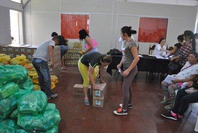 Asisten a familias vulnerables en Ayolas
