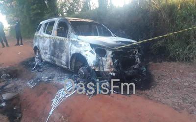 PJC: hallaron camioneta que habría sido utilizada en atentado