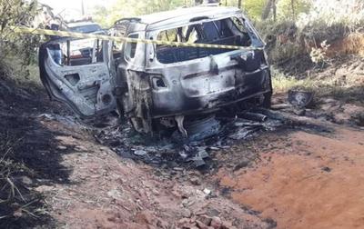 Hallan camioneta de sicarios – Prensa 5