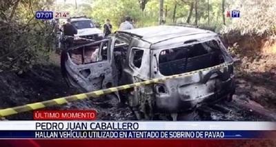 Hallan vehículo utilizado para el atentado contra sobrino de Pavão