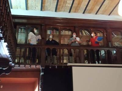 Capacitan a funcionarios del Archivo Nacional sobre biodeterioro del patrimonio