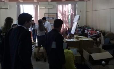 Ministerio Público procede al deslacre de caja fuerte de los ZI