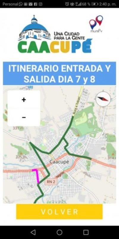 App para peregrinos a Caacupé