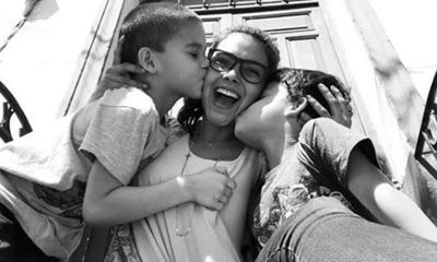 Así festejó el cumpleaños de sus hijos Paloma Ferreira