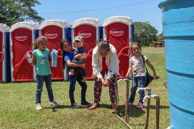 Habilitan 80 baños portátiles y agua potable en trayecto a Caacupé