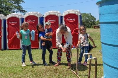 Senasa habilita 80 baños portátiles en todo el trayecto a Caacupé