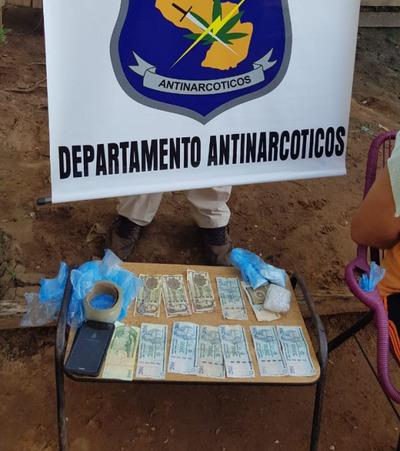 Desbaratan foco de venta de drogas en Caacupé