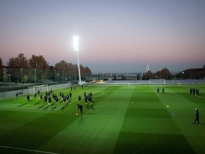 River Plate realiza una sesión suave en Madrid