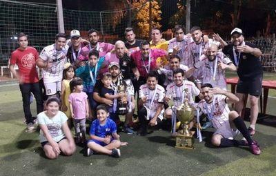 Palermo FC, tricampeón del EXA