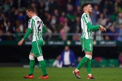 Gol de Sanabria en victoria del Betis