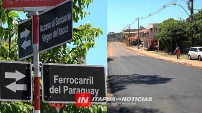 SAN ISIDRO SIENTE IMPACTO DE LAS OBRAS Y APUNTAN A DINAMIZAR COMERCIO.