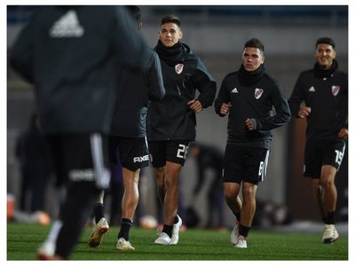 River Plate completa su segundo entrenamiento en Madrid