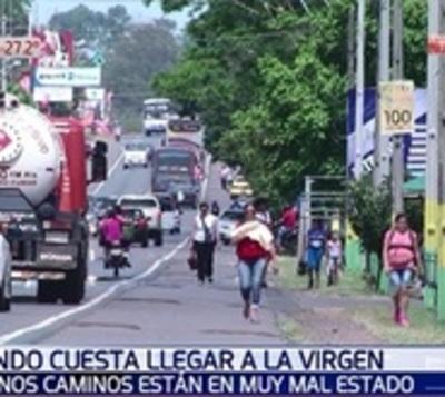 Caminos de Caacupé en mal estado esperan alguna señal del MOPC