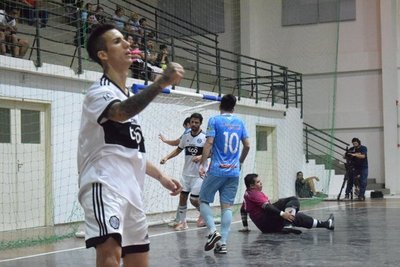 Olimpia goleó por la Copa Paraguay de Futsal FIFA
