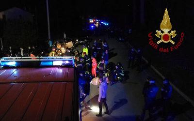 Italia: Seis muertos tras una estampida en una discoteca