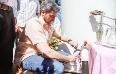 Guairá: Inauguran sistema de agua potable para 70 familias de Colonia Independencia